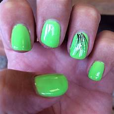 lime green black white glitter gel nails green nail