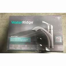 Water Ridge Pull Out Kitchen Faucet Water Ridge Seaton 709491 Kitchen Pull Out Faucet