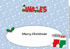 merry christmas from wales large dl insert cup587598 750 craftsuprint