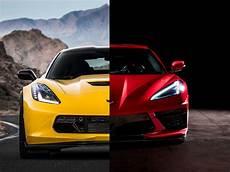 chevrolet corvette stingray c8 vs c7 how do they compare