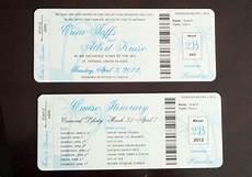 cruise boarding pass my diy boarding pass invitations cruise wedding invitations favors