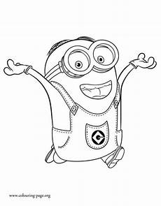 Minions Malvorlagen Free Dave Is An Intelligent And Minion Coloring