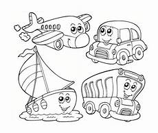 transport colouring worksheets 15181 kindergarten learn about transportation coloring page coloring sky