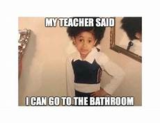 Meme Bathroom Passes by Cardi B Passes By Teaching With Color Teachers Pay