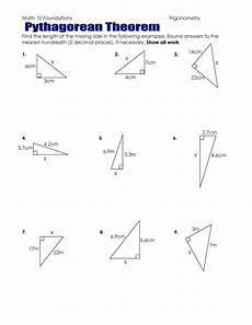 pythagoras theorem worksheets pdf download