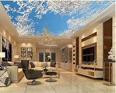 home decoration cedar tree ceiling 3d wallpaper modern for