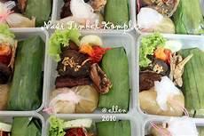 Magical Taste Of Cuisine Nasi Kotak Timbel Komplit