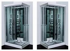 cabina doccia con sauna e bagno turco box idromassaggio 70x90 reversibile con sauna bagno turco