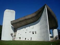 Die Wallfahrtskirche In Ronch Frankreich 1950 55 Nach