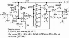 tl494 audio simple way all about circuits tl494 audio simple way all about circuits