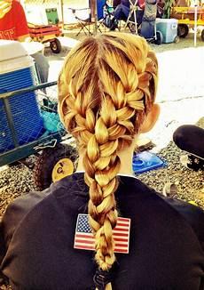 niece s hair for softball game cute pretty hair
