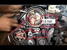 calage distribution moteur 1 6 hdi محرك ديزل تركيب