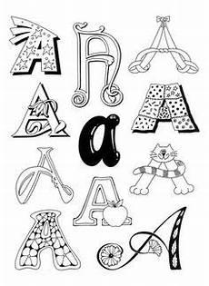 Virina Malvorlagen Font Buchstaben Applizieren N 228 Hen Buchstaben Schablone