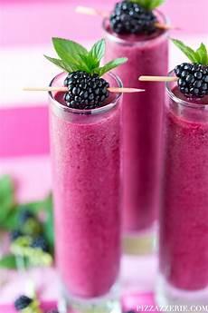 summer drink recipe blackberry coolers pizzazzerie