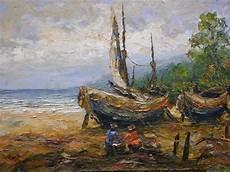 Omprog Rt Gallery Koleksi Lukisan Palette Canvas