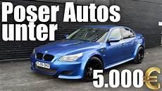 5 poser autos unter 5000 laza motors