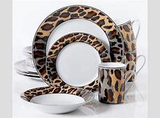 Leopard Print Tableware & Explore White Dinnerware Sets