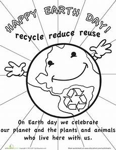 planet earth worksheets for kindergarten 14458 color the earth day picture worksheet education