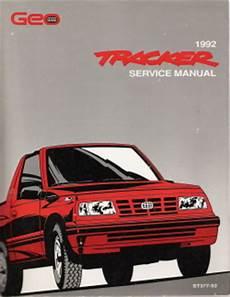 automotive repair manual 1992 geo storm engine control 1992 geo tracker factory service manual
