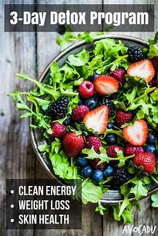 3 day detox diet plan that s simple and effective avocadu