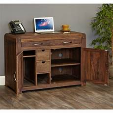 home office furniture packages shiro solid walnut home office furniture hidden desk and
