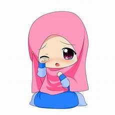Top Gambar Kartun Muslimah Berhijab Top Gambar