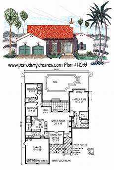 spanish colonial revival house plans authentic period style spanish colonial house plan full