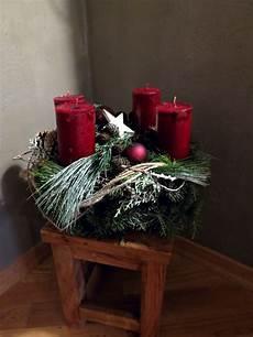 adventskranz klassisch rot by perla 180 s polarstation