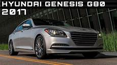2017 Hyundai Genesis G80 Review Rendered Price Specs