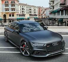 audi rs7 black car pictures carsmind