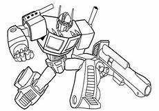 Contoh Gambar Mewarnai Gambar Transformer Kataucap