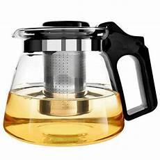 de amapodo teekanne glas 400ml doppelwandig mit