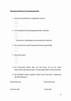 untermietvertrag wg zimmer pdf