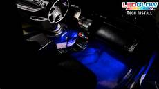 glowing interior ledglow s 4 led interior lighting kit installation