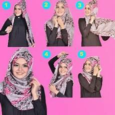Trend Terbaru 2016 Cara Memakai Jilbab Segi Empat