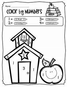 color by number worksheets high school 16166 color by number coloring pages back to school theme pre k to 1st