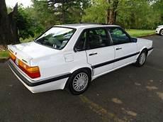 old car manuals online 1987 audi 4000cs quattro electronic throttle control 1987 audi quattro 4000 cs alpine white original 1 owner classic ur low reserve classic audi