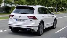 2017 Volkswagen Tiguan R Line Rear Three Quarter Hd