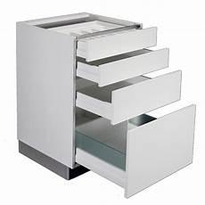 meuble cuisine a suspendre meuble bas grande hauteur 3 tiroirs 1 grand