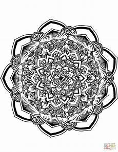 mandala coloring pages flowers 17908 flower mandala coloring page free printable coloring pages