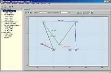 software modget kinematische analyse kurvengetriebe