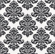 Tapete Schwarz Weiß Muster - vliestapete rasch barock luxus braun beige 740905