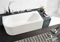 Badewanne Halb Freistehend - ideen f 252 r freistehende badewanne an der wand