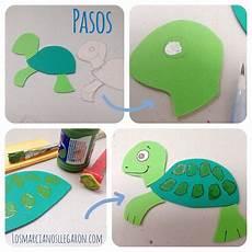 moldes de tortugas en foami imagui moldes hacer una tortuga en foami imagui