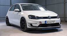 e golf 2018 check out what revozport can do with the vw e golf carscoops
