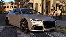 2015 Audi Rs7 Sportback Add On Replace Gta5 Mods