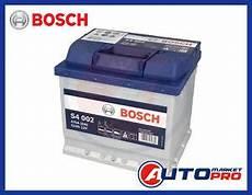 batteria auto bosch batteria per auto bosch s4 52 ah panda stilo multipla punto ypsilon golf 5 clio ebay