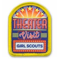 day worksheets 18252 theater visit sew on patch