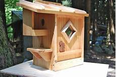 squirrel houses plans squirrel house by bwr248 on etsy