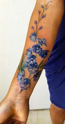 Blumen Arm - watercolor flower forearm ideas for ideas